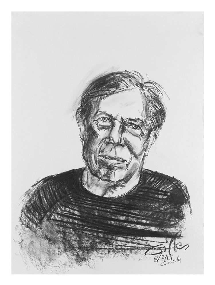 Portrait de Gilles A. réalisé par Giorda