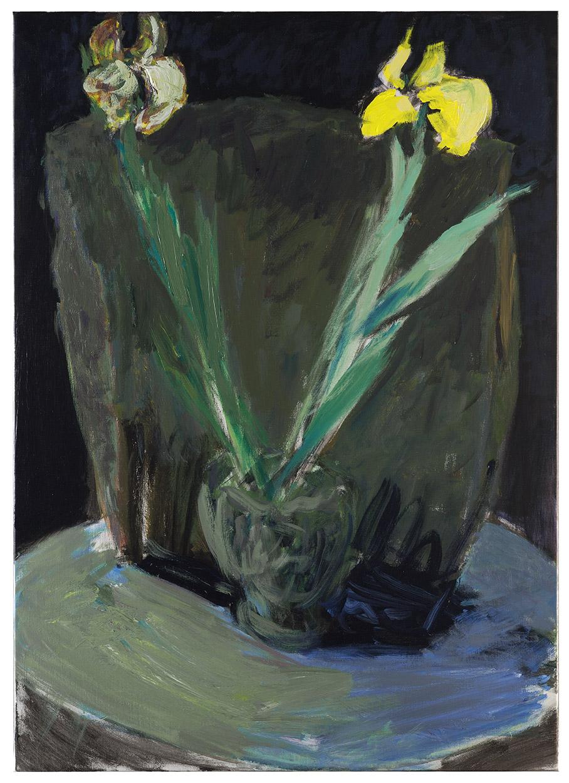 Tableau d'Iris jaunes (par Patrice Giorda)