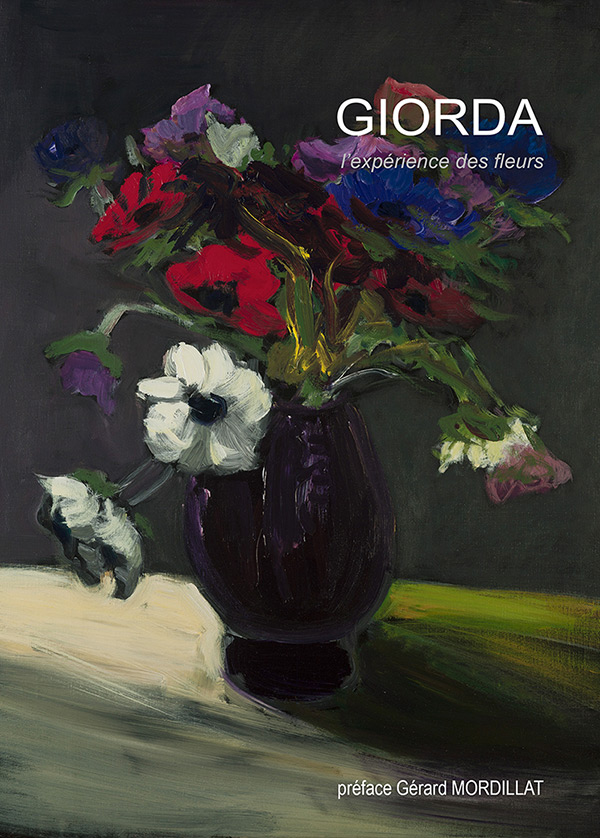 Affiche de l'exposition Experience des Fleurs de Patrice Giorda